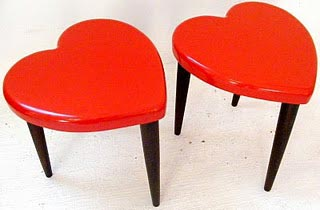 Heart Stools Giveaway on Vamp
