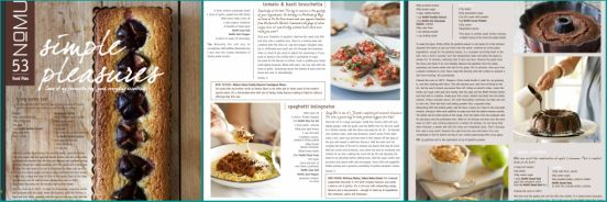Nomu's March recipe mailer is crammed with recipes for food i really want to eat