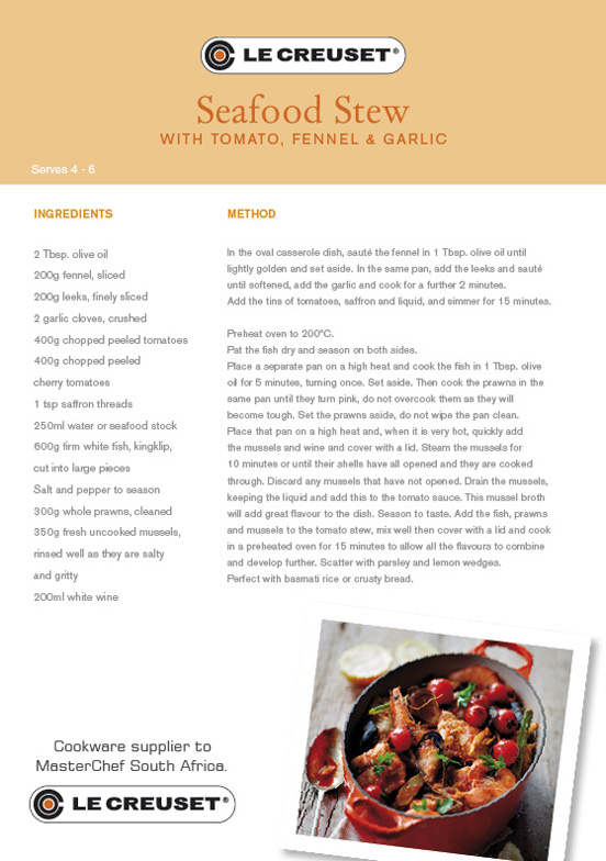 Comfort Food & Le Creuset | I Want That