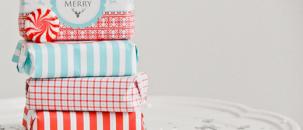 A Festive DIY Wrapping Idea