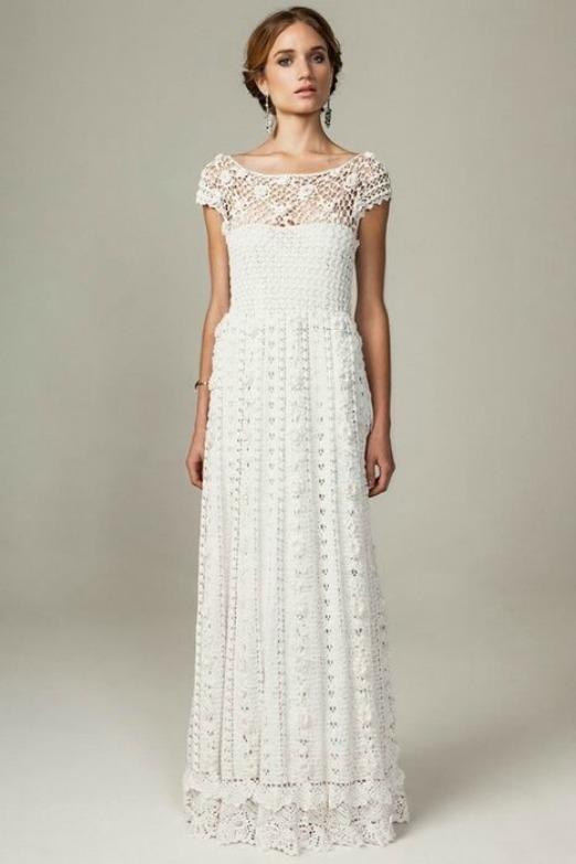Crochet wedding dresses i want that soft and dreamy junglespirit Gallery