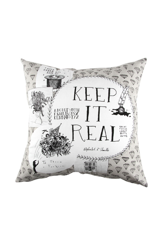 Michael Chandler Illustrated Scatter Cushion R159.99