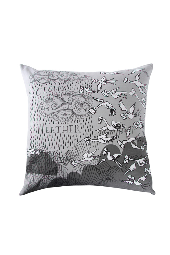 Michael Chandler Illustrated Weather Scatter Cushion R159.99
