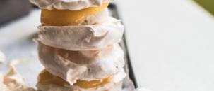 Lemon Meringue Pie Ice Cream Sandwiches