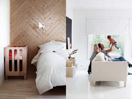 modern-finish-home_wood_white_vivid-colors_wood-board-bedroom-wall