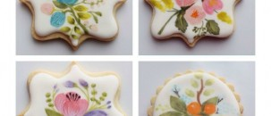 Pretty Painted Biscuits