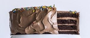 4 Layer Chocolate Cake