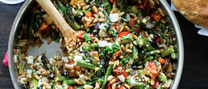 Easy, Delicious, Orzo Salad