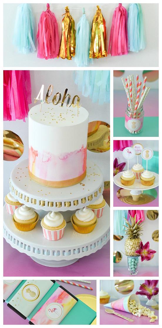 Tropical-Aloha-Themed-Bridal-Shower-via-Karas-Party-Ideas-KarasPartyIdeas.com12