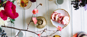 A Beaut Blossom-Filled Brunch