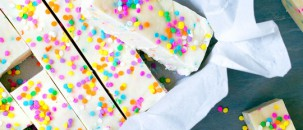 4-Ingredient Funfetti Fudge