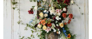 Whimsical Wedding Trend: Flower Walls