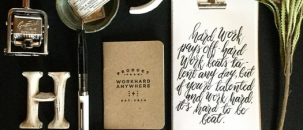 Stationery & Calligraphy Inspiration