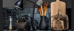 Monday Interior Inspiration: Black Tiles