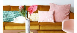 Colour Trend: Blush & Mustard