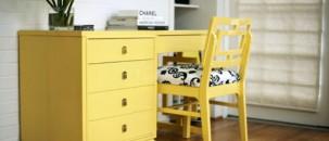 Monday Interior Inspiration: Splash of Yellow