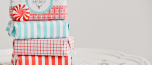 A Festive DIY Wrapping Idea