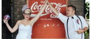 Caryn & Dustin's DIY Rockabilly Wedding