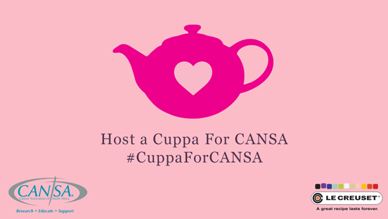 Cuppa for CANSA at The Table Bay