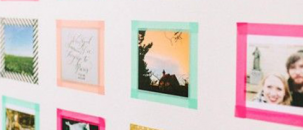 Washi Tape on Walls