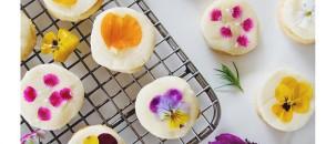 Spotlight On: Edible Flower Cookies