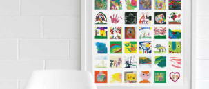 5 Fab Ways to Save your Kids Artworks